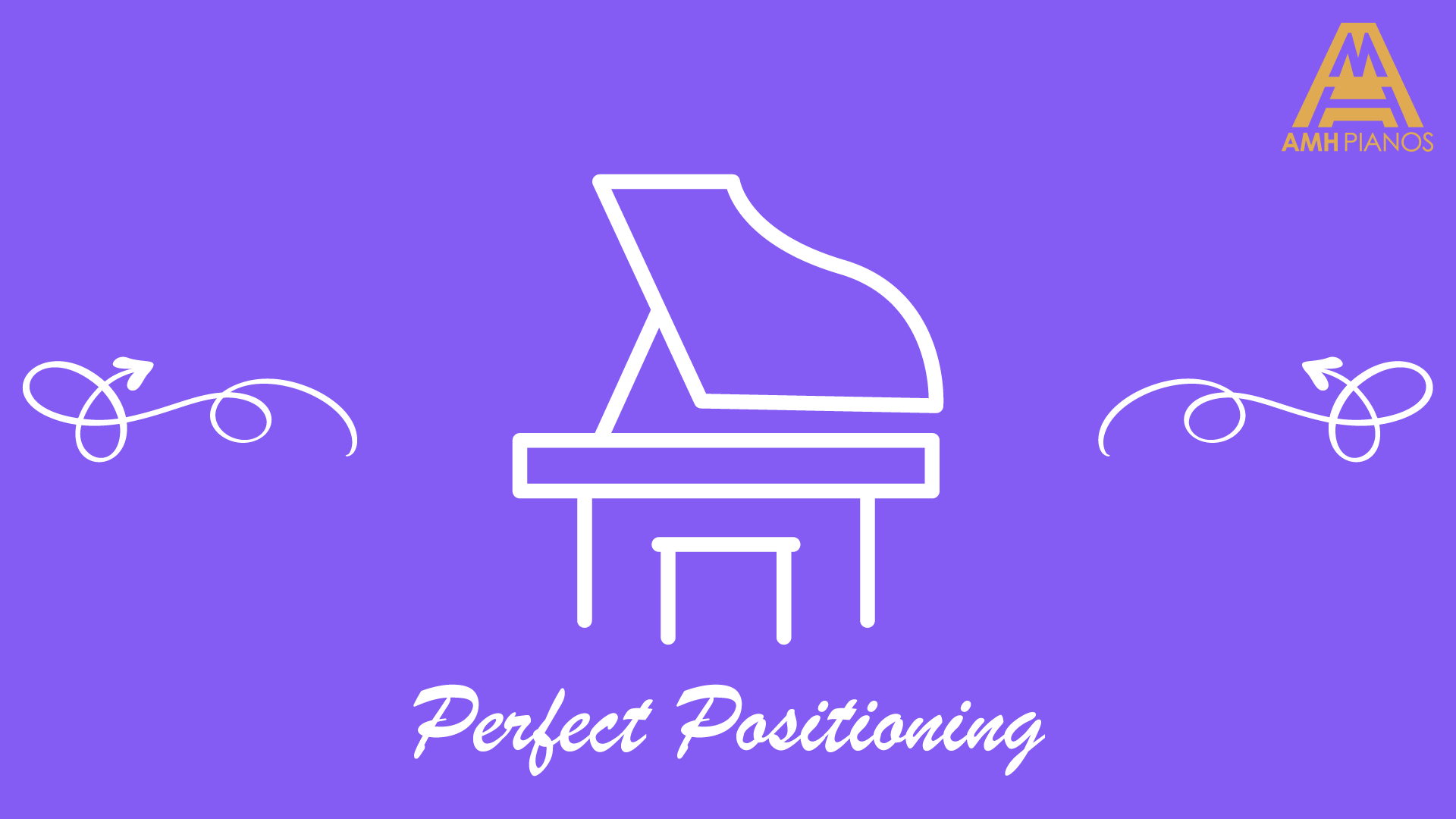 Illustration Of A Piano With Text Perfect Positioning